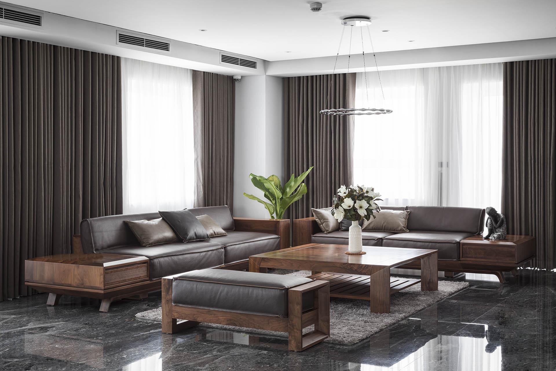 Công trình thiết kế phòng khách