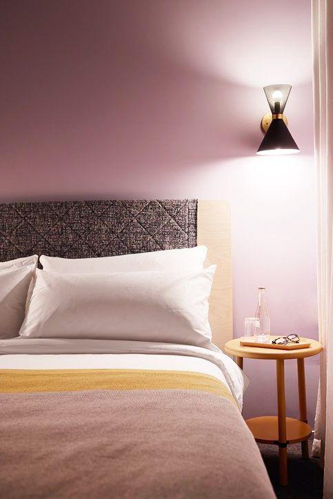 Giường ngủ bão hòa và sạch sẽ