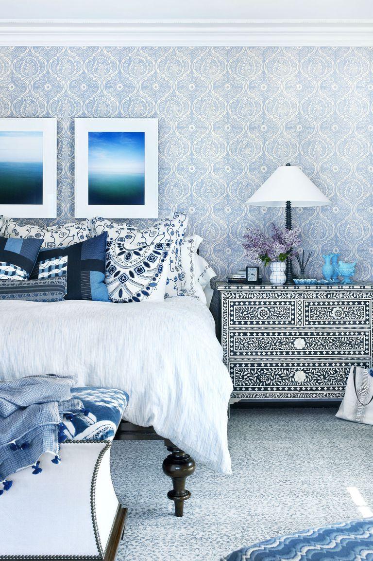 Hoa văn trong phòng ngủ