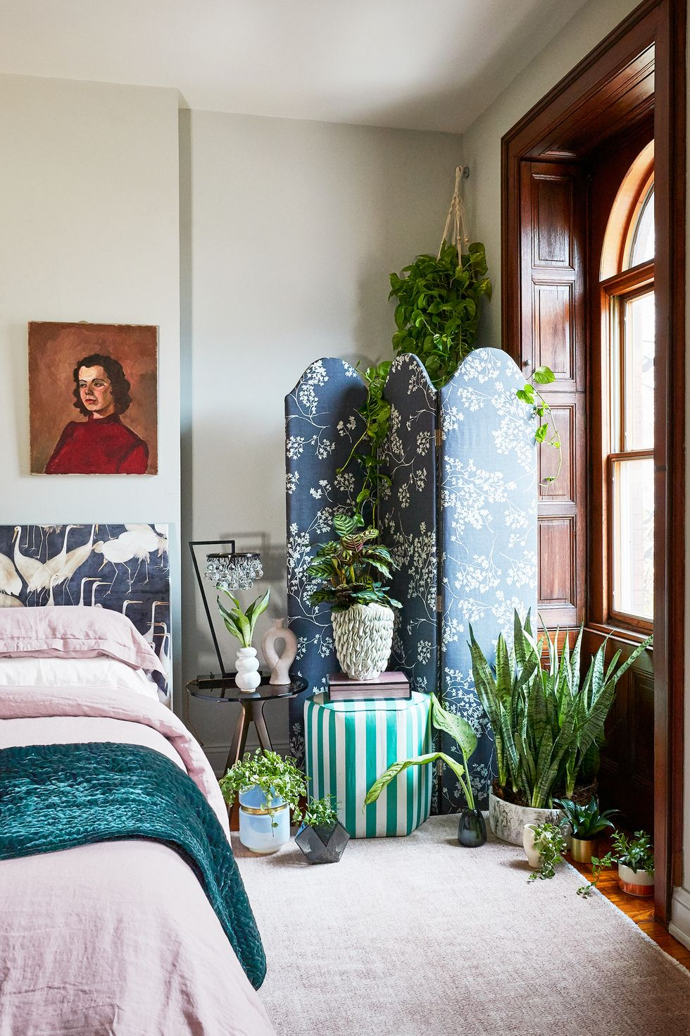 Mang cây xanh tới phòng ngủ của bạn