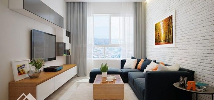 Nội thất phòng khách đẹp bằng gỗ 1