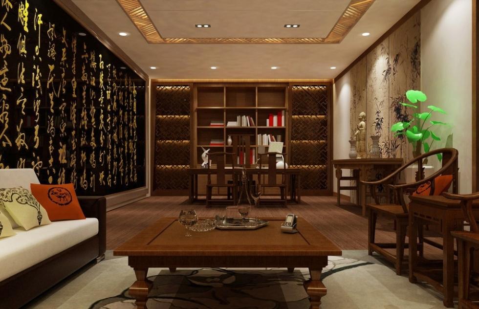 Nội thất phòng khách đẹp bằng gỗ 4