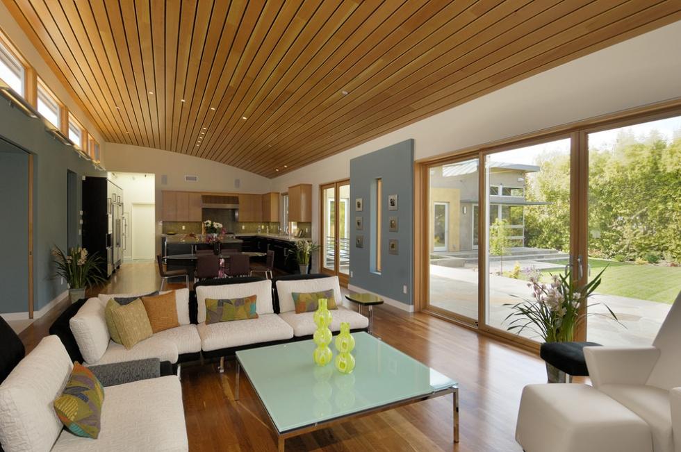 Nội thất phòng khách đẹp bằng gỗ 5