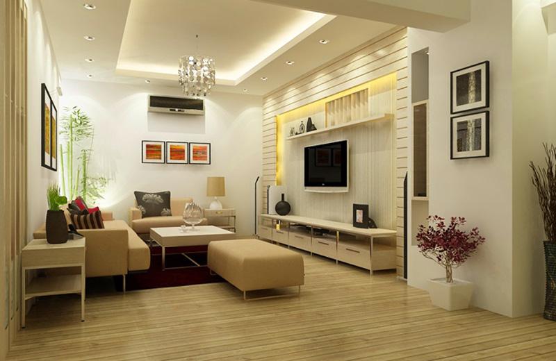 Nội thất phòng khách đơn giản mà đẹp 1