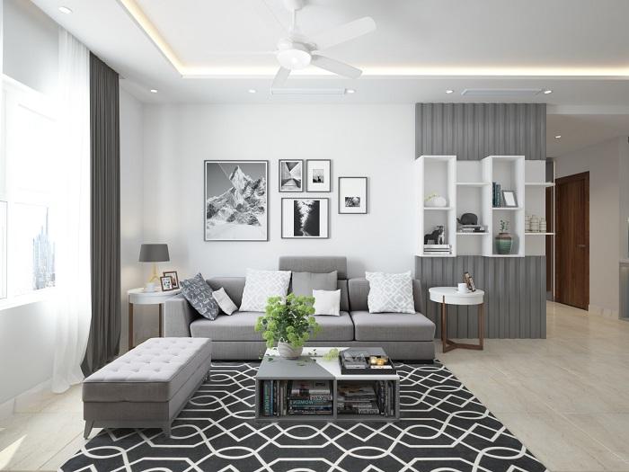 Nội thất phòng khách đơn giản mà đẹp 8