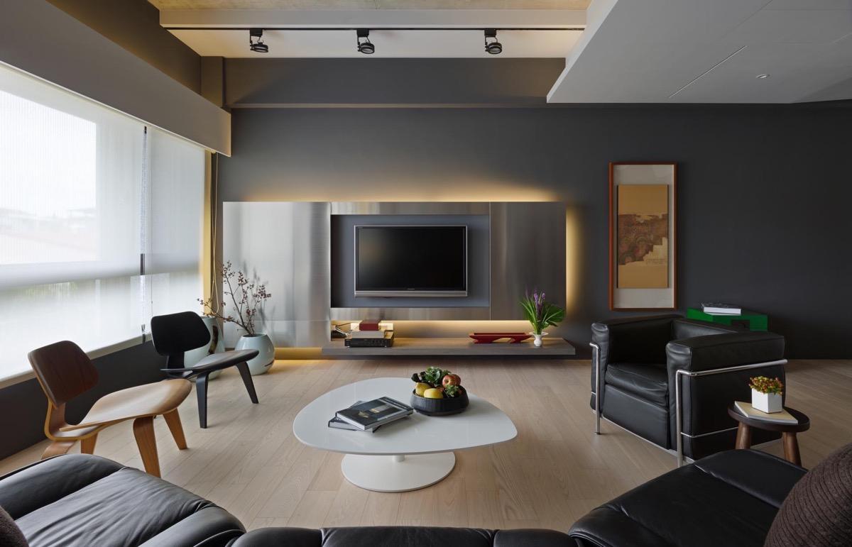 Nội thất phòng khách chung cư đơn giản 2