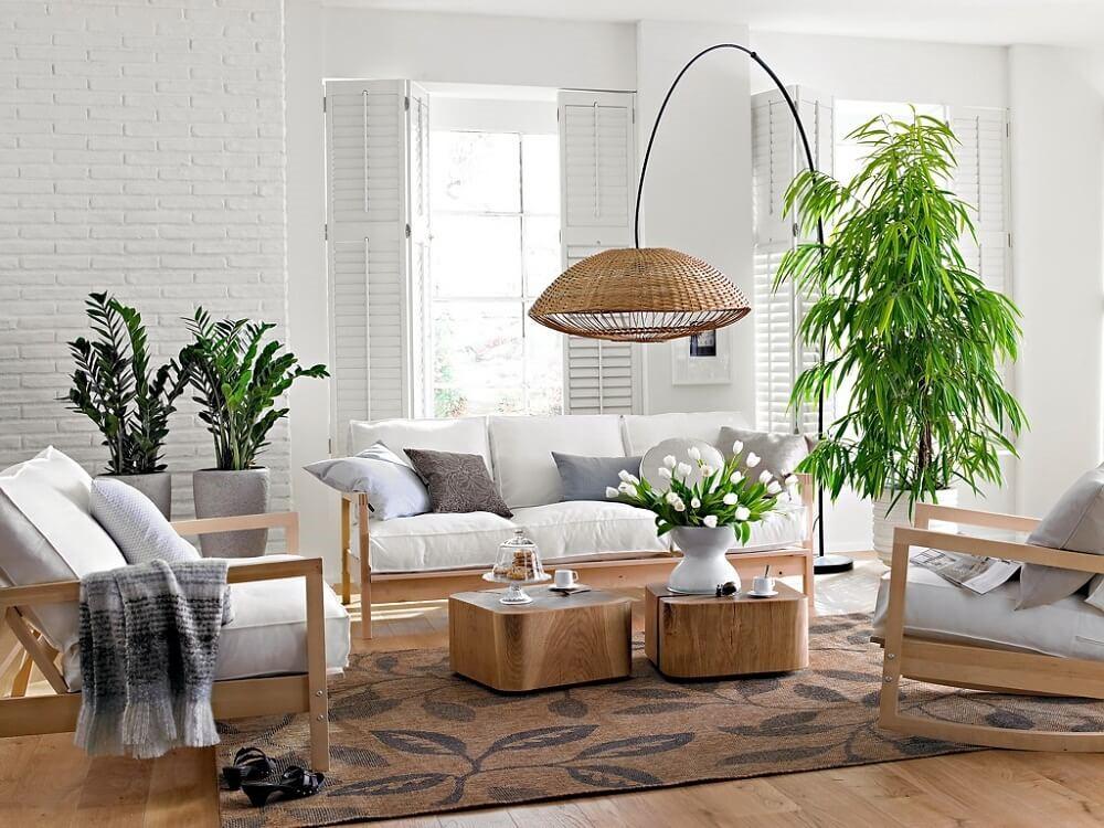 Nội thất phòng khách chung cư đơn giản 4