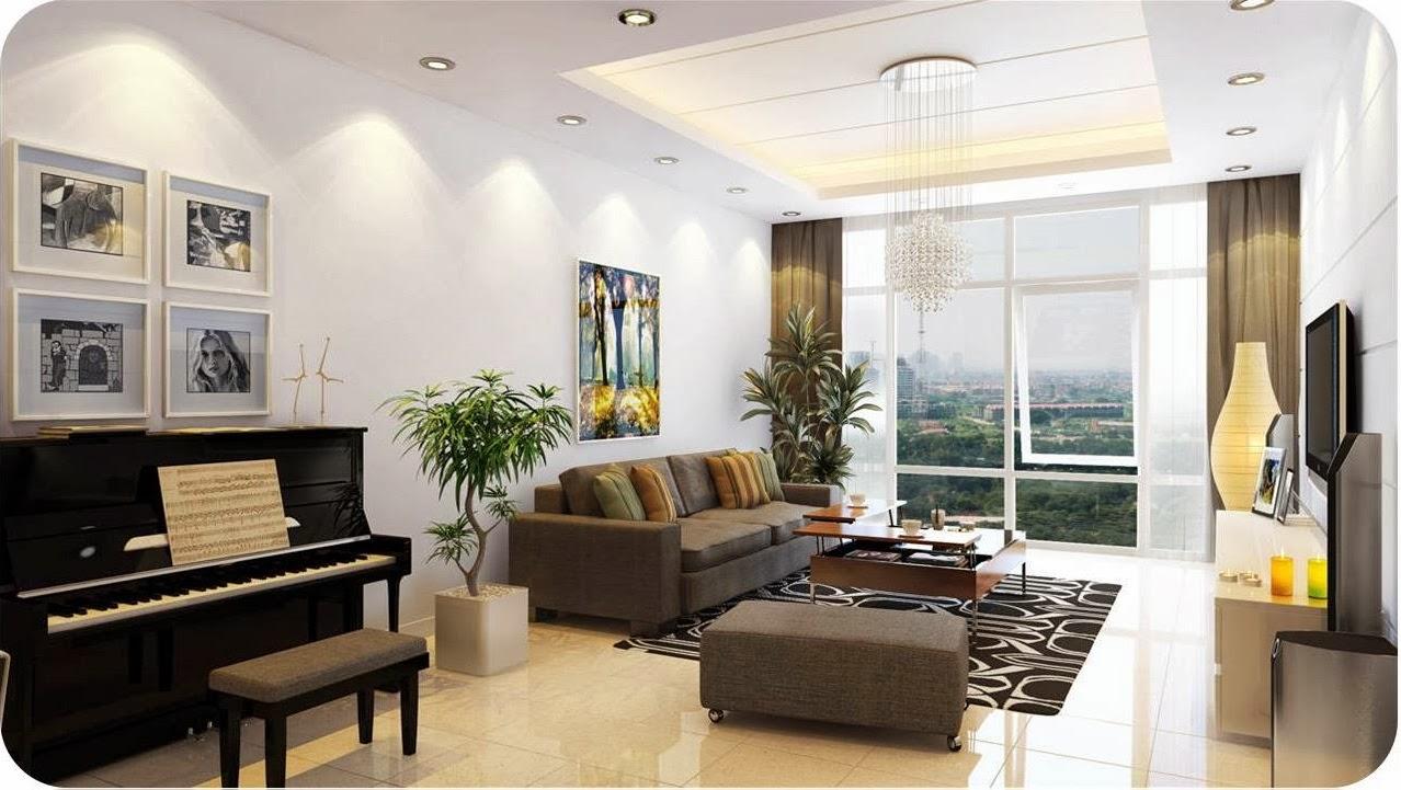 Nội thất phòng khách chung cư cao cấp 1