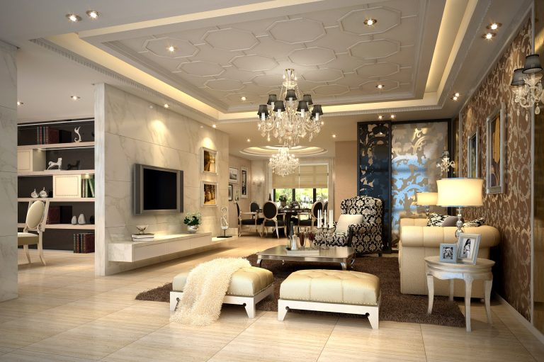Nội thất phòng khách chung cư cao cấp 2