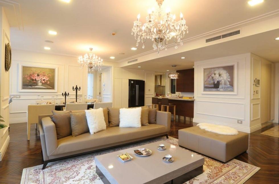 Nội thất phòng khách chung cư hiện đại 3