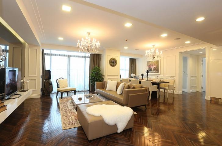 Nội thất phòng khách chung cư hiện đại 4