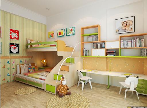 Nội thất phòng ngủ trẻ em 1