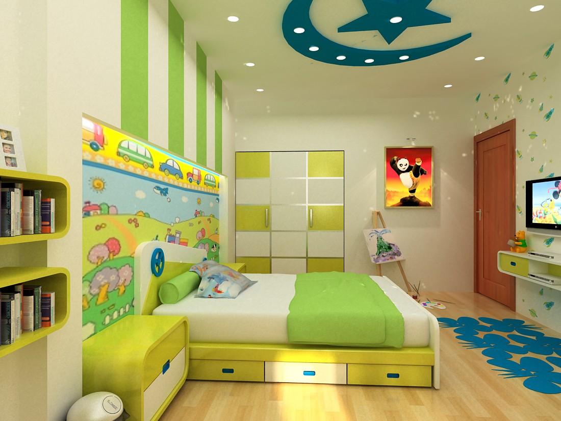 Nội thất phòng ngủ trẻ em 2