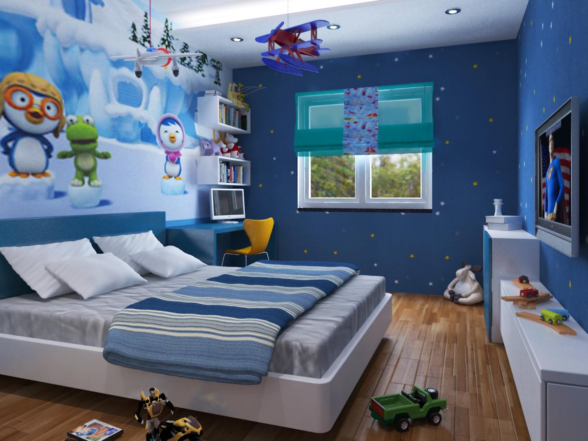 Nội thất phòng ngủ trẻ em 3