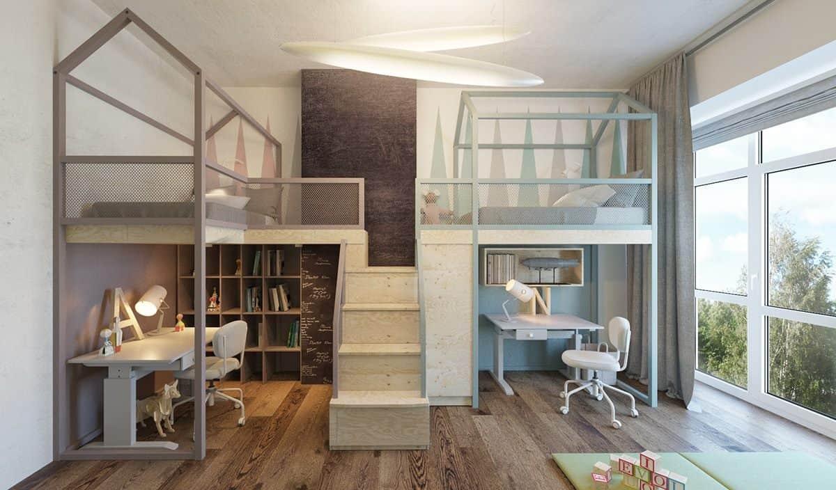 Nội thất phòng ngủ trẻ em 7