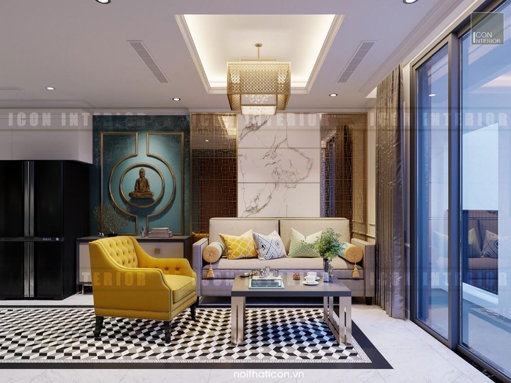 Phòng khách Tân Cổ ĐIển 8