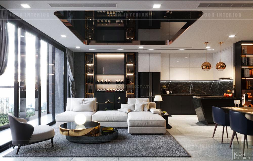Phòng khách hiện đại 4