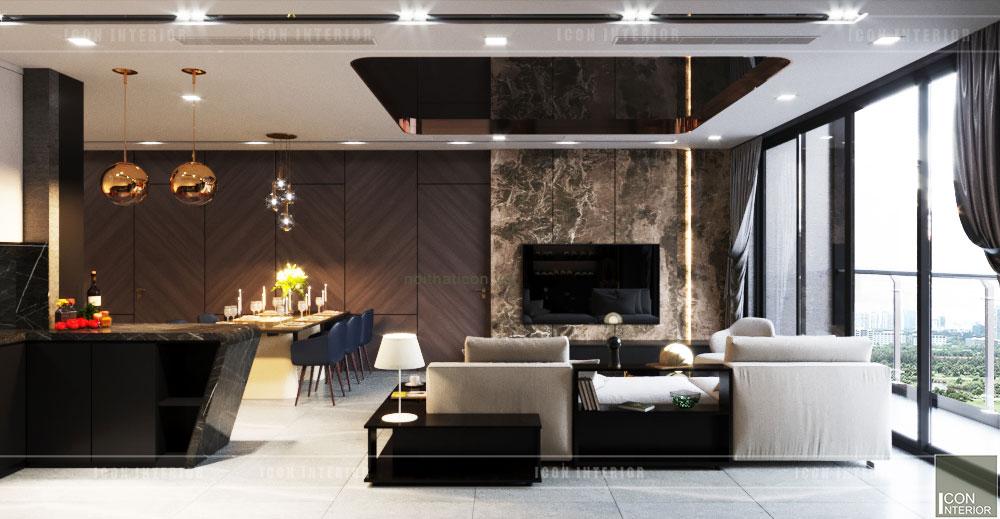 Phòng khách hiện đại 5