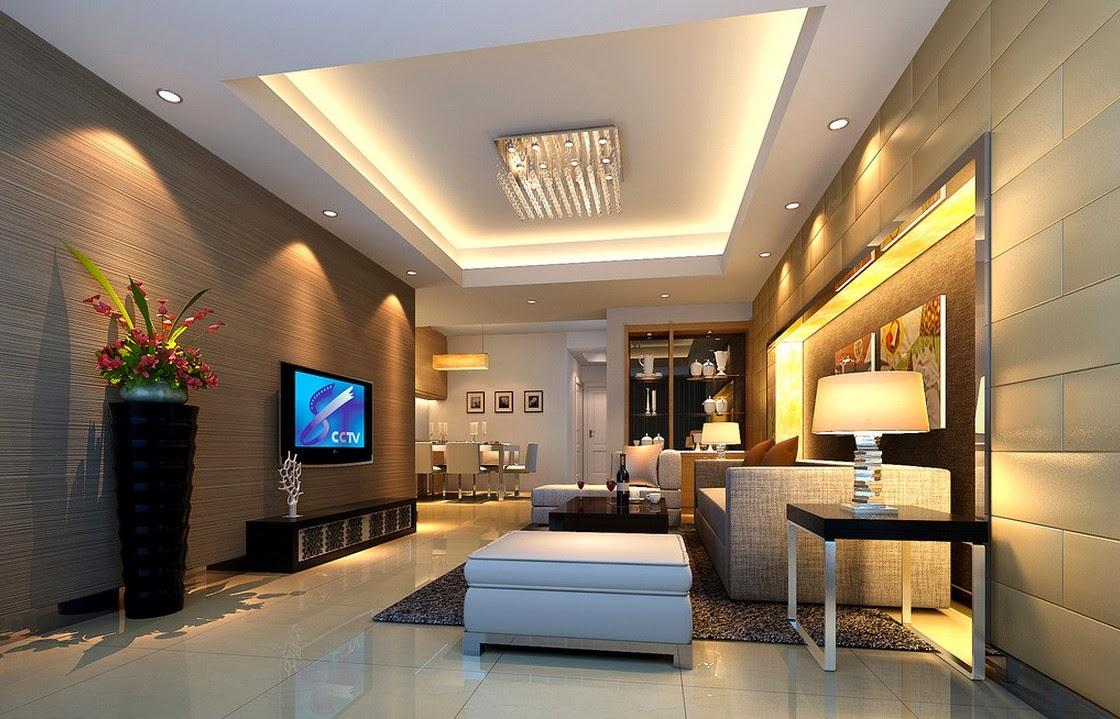 Phòng khách nhà ống 4m 1