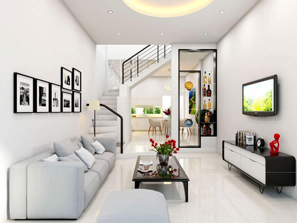 Phòng khách nhà phố 3