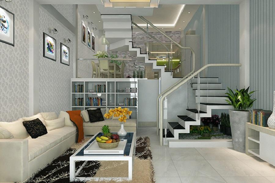 Phòng khách nhà phố 4