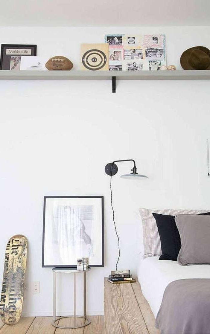 Sử dụng không gian dọc trong phòng ngủ
