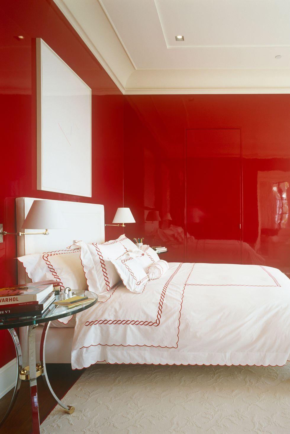 Sử dụng sơn bóng trong phòng ngủ