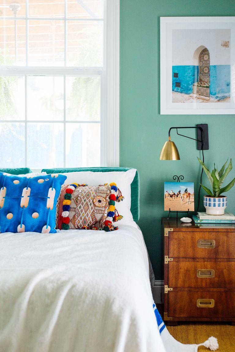 Táo bạo với màu sắc phòng ngủ