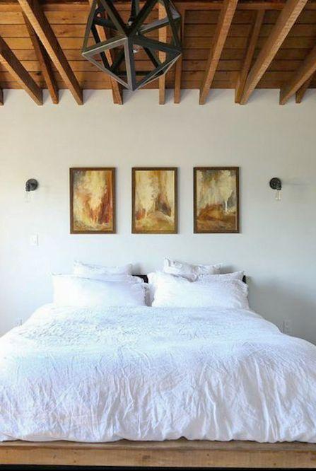 Tạo một bộ ba tranh treo tường phòng ngủ