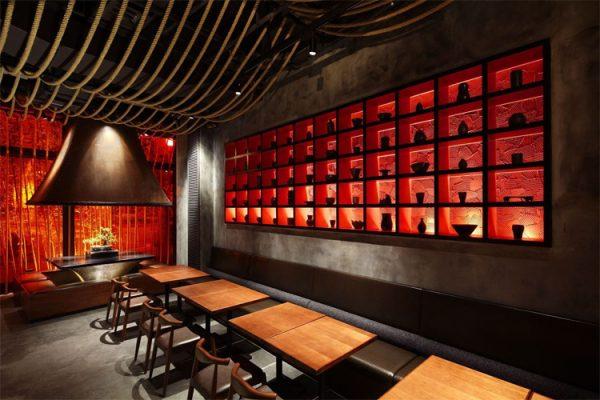 Thiết kế nhà hàng phong cách Trung Quốc