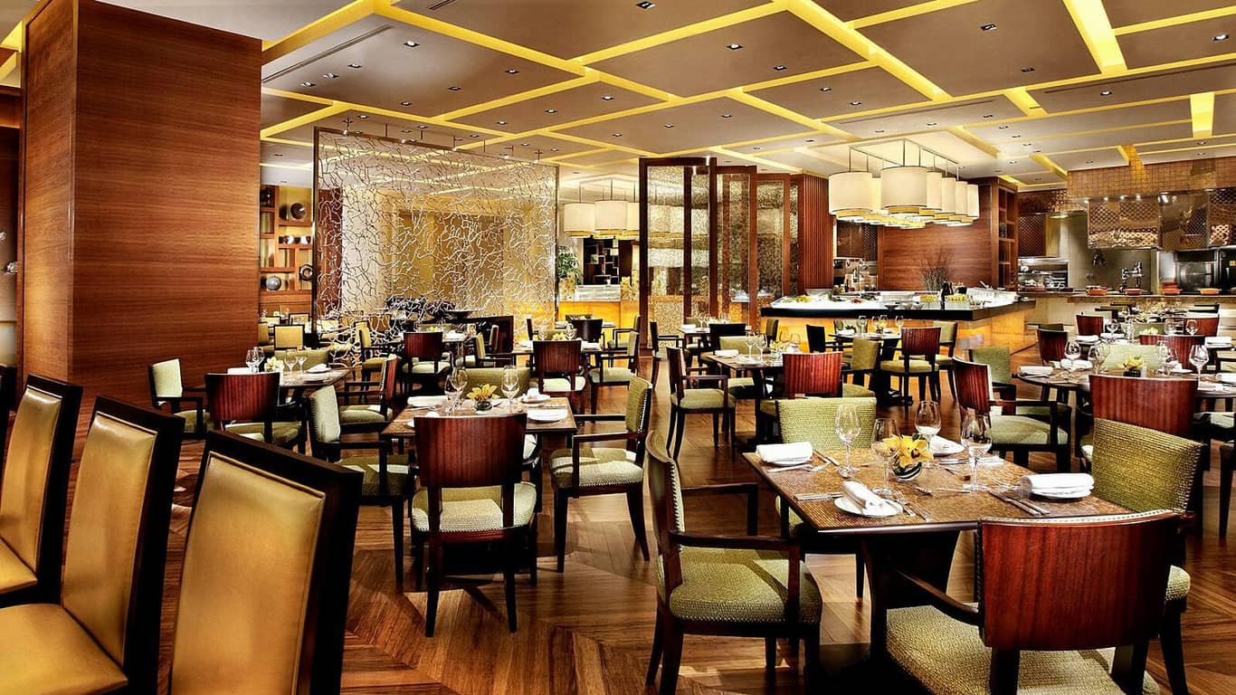 Thiết kế nhà hàng tự phục vụ