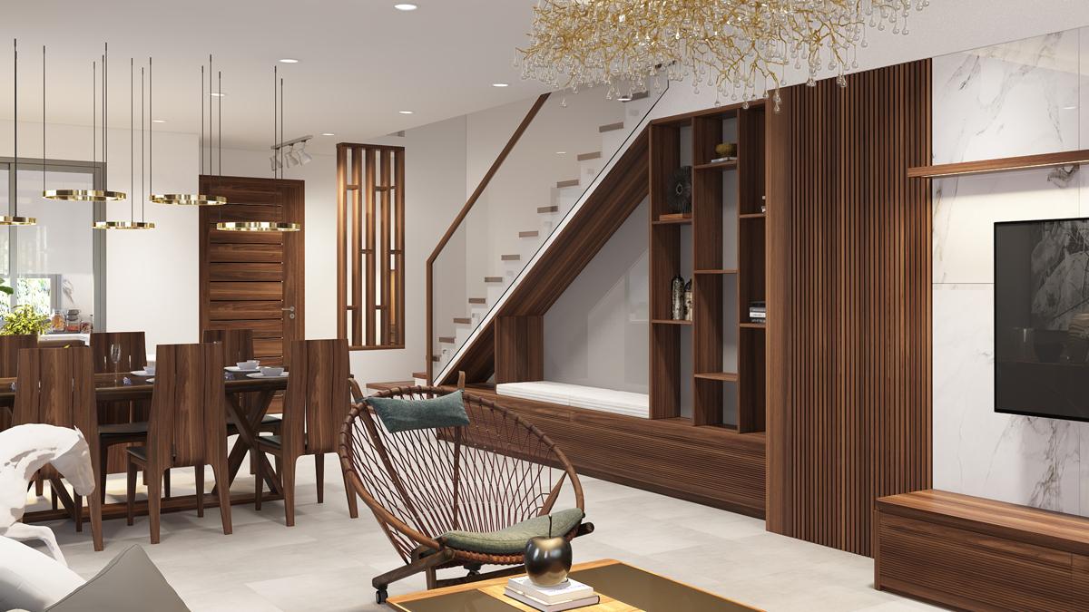 Thiết kế nội thất biệt thự nhà phố 1