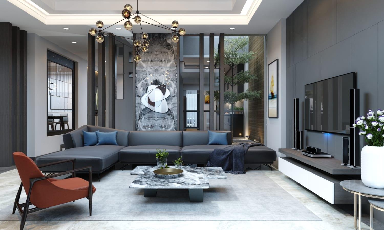 Thiết kế nội thất biệt thự nhà phố 12