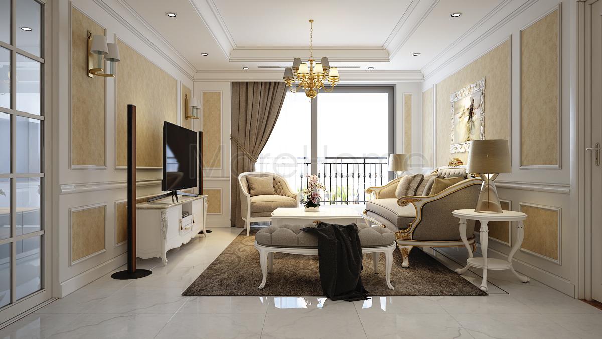 Thiết kế nội thất chung cư 70m2 10