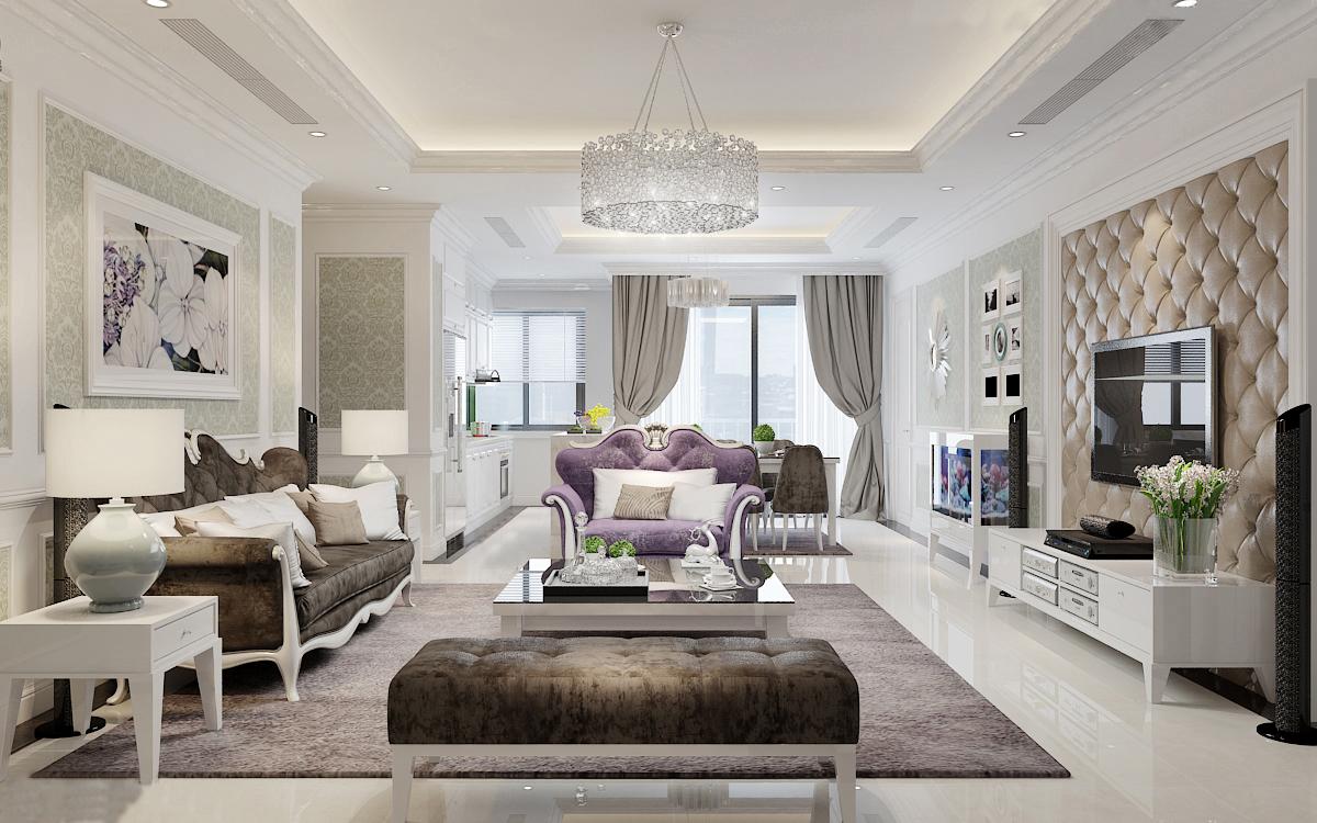 Thiết kế nội thất chung cư 70m2 8