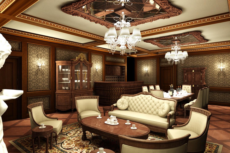 Thiết kế nội thất nhà phố cổ điển 5