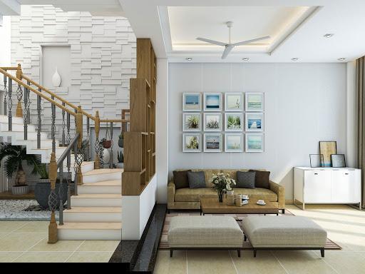 Thiết kế nội thất nhà phố cổ điển 7
