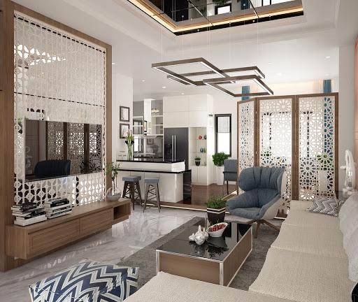 Thiết kế nội thất nhà phố cổ điển 8