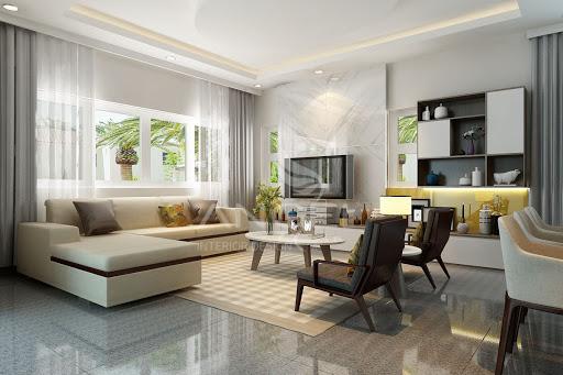 Thiết kế nội thất nhà phố hiện đại 11