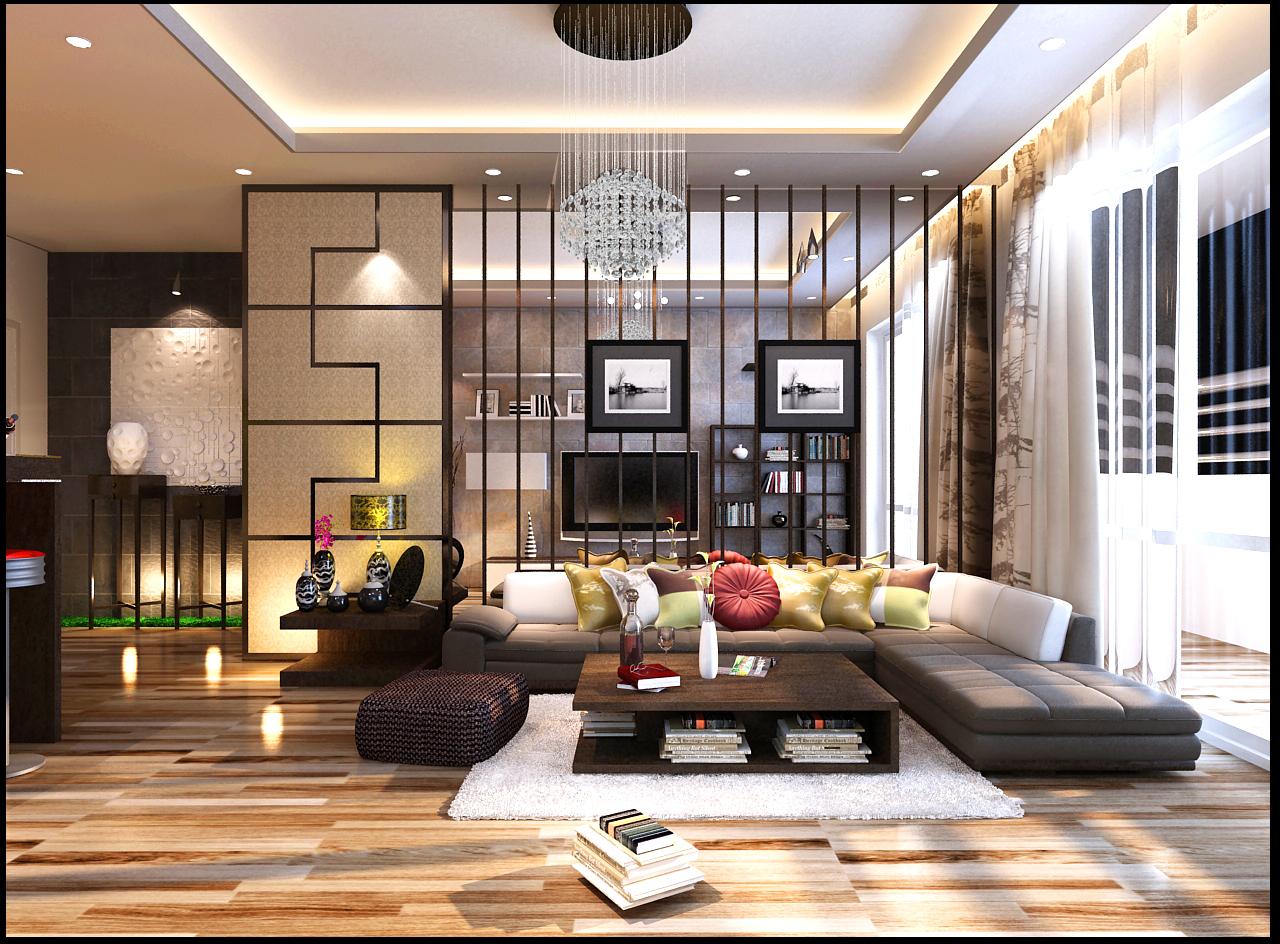 Thiết kế nội thất nhà phố hiện đại 12