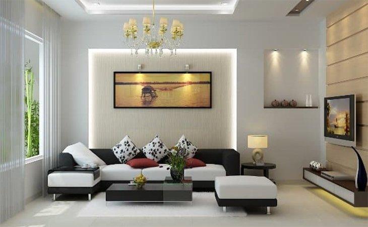 Thiết kế nội thất nhà phố hiện đại 2