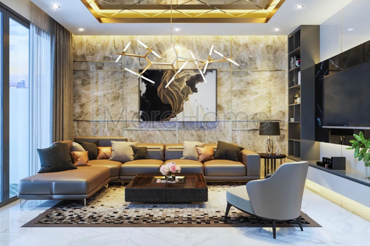 Thiết kế nội thất nhà phố hiện đại 4