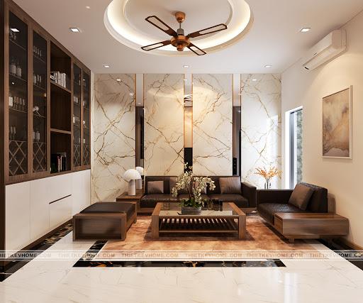 Thiết kế nội thất nhà phố hiện đại 5