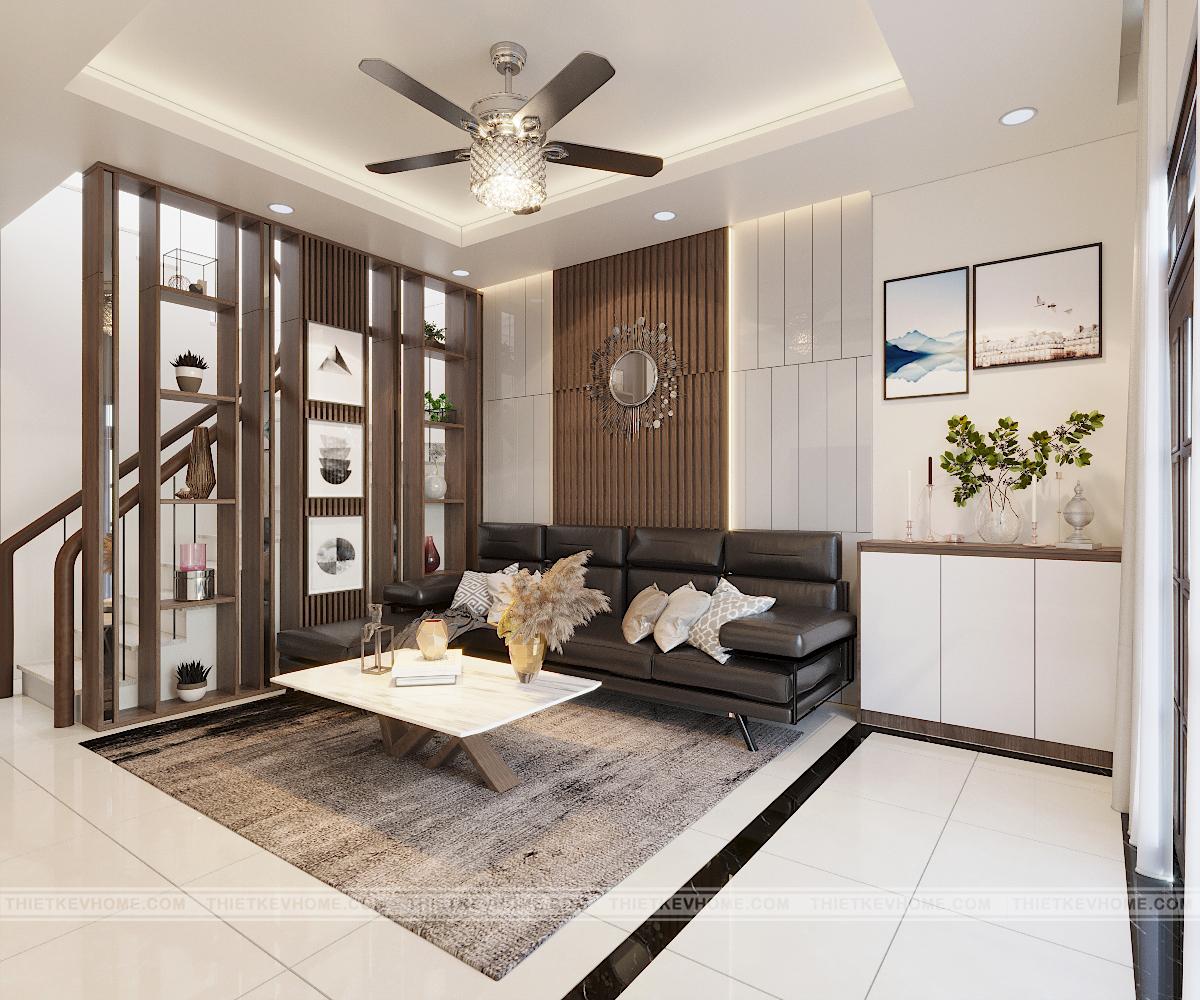 Thiết kế nội thất nhà phố hiện đại 6