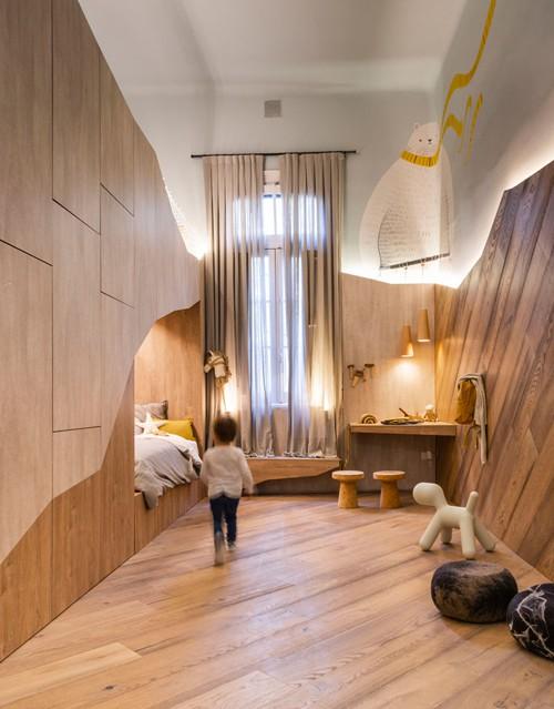 Thiết kế nội thất nhà phố hiện đại 7