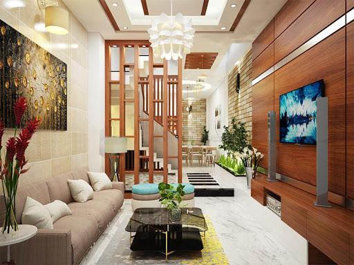 Thiết kế nội thất nhà phố hiện đại 8