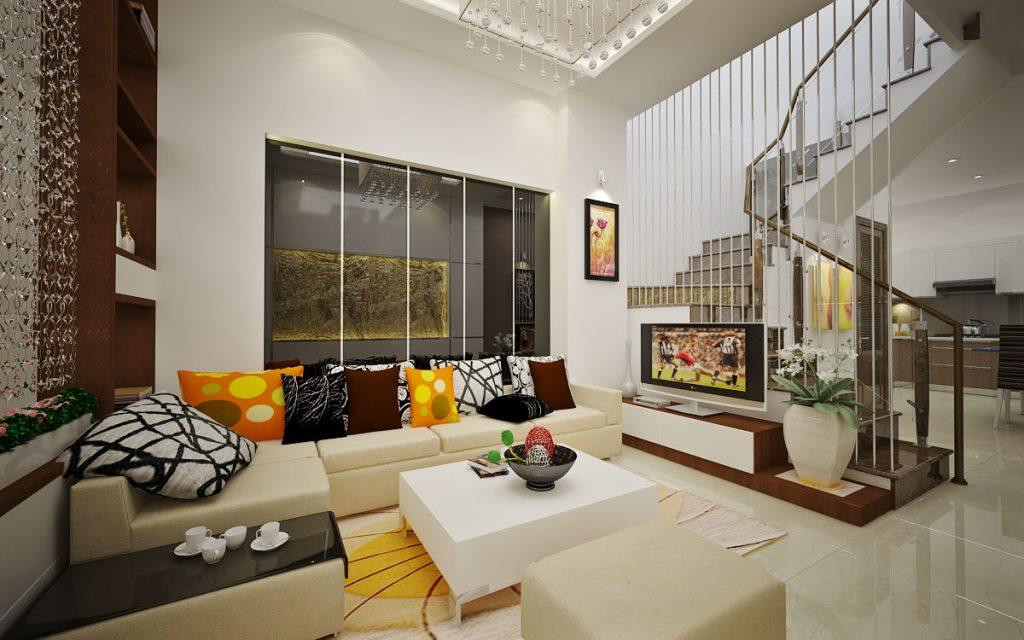 Thiết kế nội thất nhà phố hiện đại 9