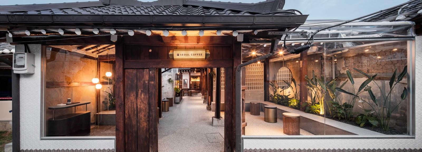 Thiết kế quán cafe độc đáo 1