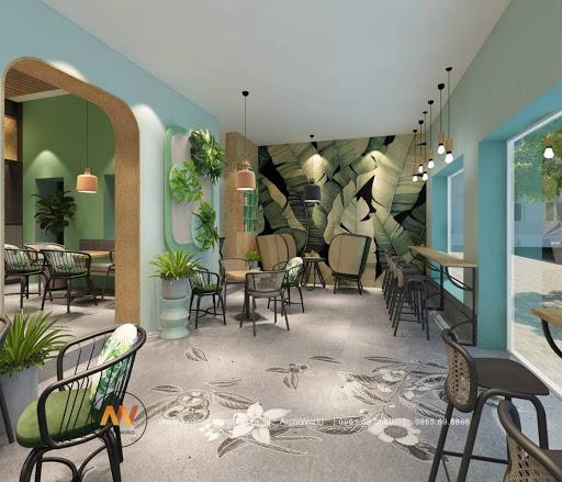 Thiết kế quán cafe độc đáo 6