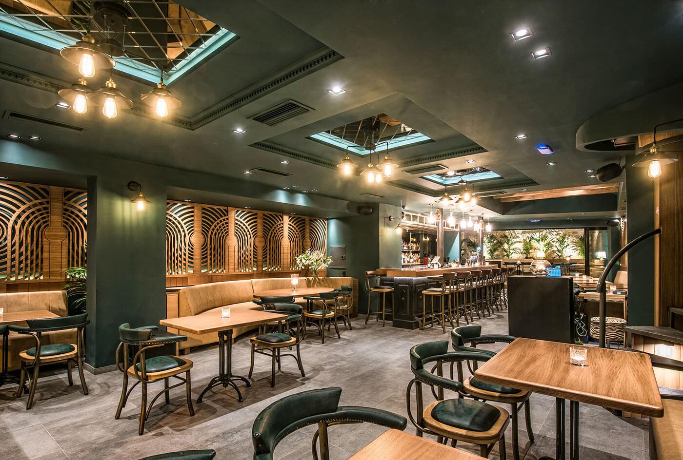 Thiết kế quán cafe cổ điển 1